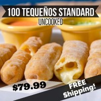 100 Tequeños Standard Uncooked