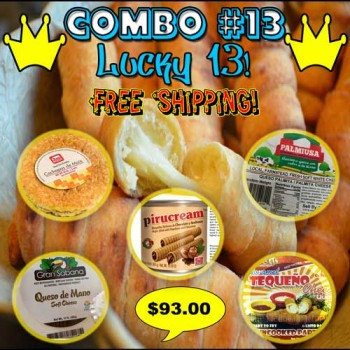 COMBO #13 (Lucky 13!)