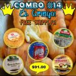 COMBO #14 (El Gringo!)