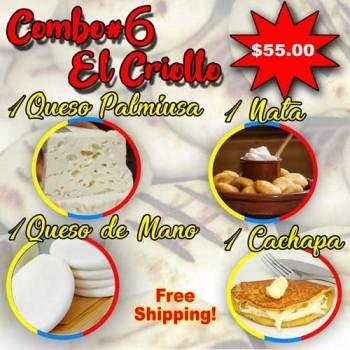 COMBO #6 (El Criollo)