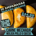 10 Empanadas Grande (Free Shipping)