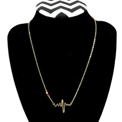 Necklace Venezuelan Heartbeat (Free Shipping)