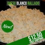 Queso Llanero Rallado (Grated)