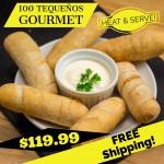 100 Tequeños Gourmet