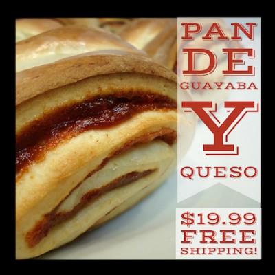 Pan de Guayaba y Queso (Free Shipping)