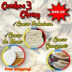 COMBO #3 (Cheesy)