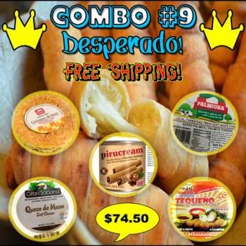 COMBO #9 (Desperado!)