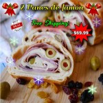 2 Panes de Jamon (Free Shipping!)