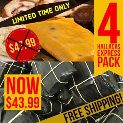 Hallacas Express Pack (Free Shipping)