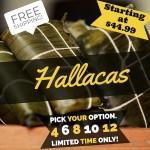 Hallacas (Free Shipping)