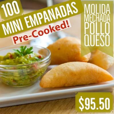 Mini Empanadas Pre-Cooked