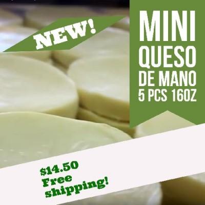 Mini Queso de Mano (Free Shipping)