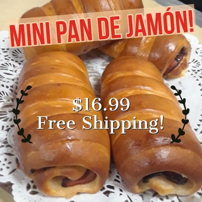 Mini Pan de Jamón