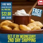 3 Nata Venezolana (Free Shipping)