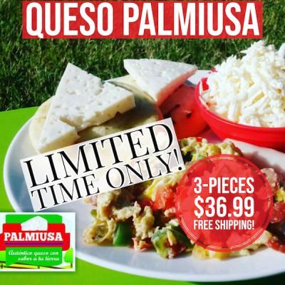 3 lbs Queso Palmiusa (Free Shipping)