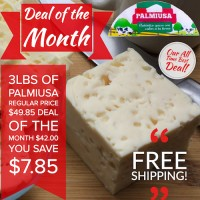 3 lbs Queso Palmiusa (Free Shipping)
