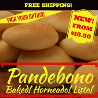 Pandebono Baked (Free Shipping)