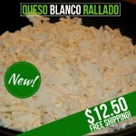 Queso Llanero Rallado (Grated)