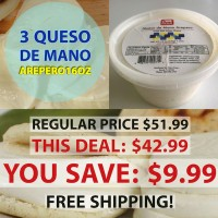 3 Queso Mano Arepero (Free Shipping)