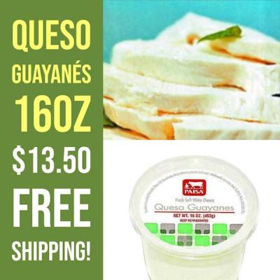 Queso Guayanés (Free Shipping)