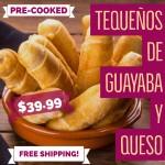 Tequeños de Guayaba y Queso (Free Shipping)