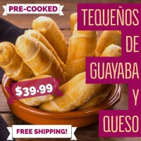 20 Tequeños Guava and Cheese