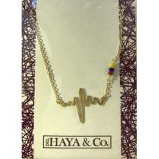 Necklace Venezuelan Heartbeat (Free Shipping)